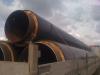 Транспортировка трубы D820x9 в ППУ-ПЭ для строительства Олимпийских объектов г.Сочи