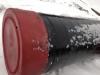 Труба в ВУС изоляции с пластиковой заглушкой для зашиты внутренней эпоксидно эмалевой изоляцией
