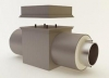 Кабельный вывод на соединительную коробку трубопроводов в ППУ изоляции с электрообогревом