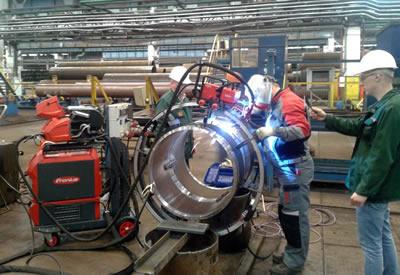 На Волжском трубном заводе запущена в эксплуатацию установка для испытаний труб на смятие